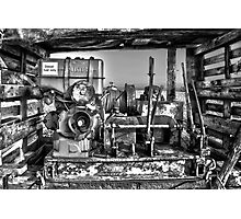 Boat winch Photographic Print