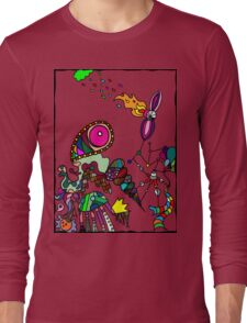 Coloured Rain Long Sleeve T-Shirt