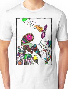 Coloured Rain Unisex T-Shirt