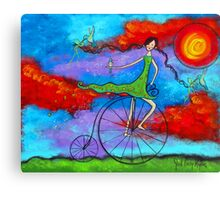 The Magical Ride Canvas Print