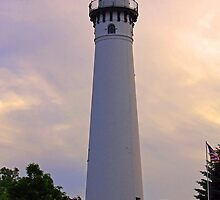 Wind Point Lighthouse by Bonnie Phillips