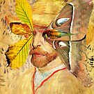 Portrait of Van Gogh 4. by Andy Nawroski