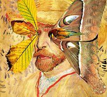 Portrait of Van Gogh 4. by Andrew Nawroski