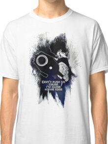 Spike - Don't push me... Classic T-Shirt