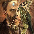 Portrait of Van Gogh 5. by Andy Nawroski