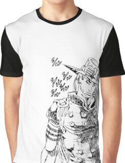 Jojo - Gyro Zeppeli (Black) Graphic T-Shirt