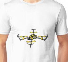 Cool Fun Yellow Jacket Drone Art Unisex T-Shirt