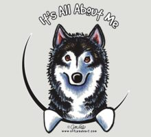 Alaskan Malamute :: It's All About Me by offleashart