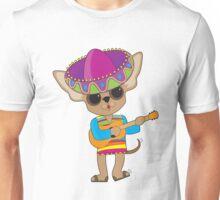 Chihuahua Guitar Unisex T-Shirt