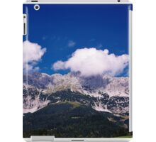 Fluffy Mountain Clouds - Wilder Kaiser iPad Case/Skin