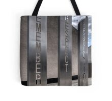 'Remember, Respect, Resolution' Tote Bag