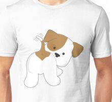 Cute Puppy Rear View Unisex T-Shirt