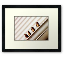 invaders Framed Print