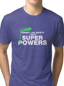 Funny Lab Safety T-shirt Tri-blend T-Shirt