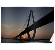Bridge in Charleston, SC Poster