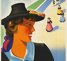 Vintage poster - Austria by mosfunky