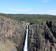 Wallaman Falls - North Queensland by cathywillett