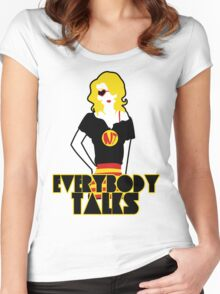 """Neon Trees Inspired """"Trixie""""  Women's Fitted Scoop T-Shirt"""