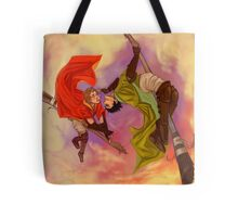Marcus Flint and Oliver Wood Tote Bag