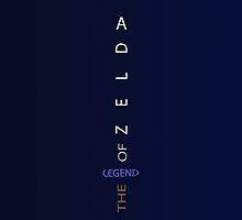 The Legend of Zelda Sword by Tanner Shelton