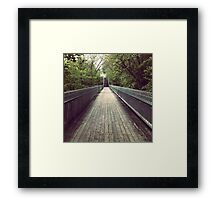 The Path. Framed Print