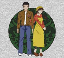 Ryo and Shenhua - Shenmue One Piece - Long Sleeve