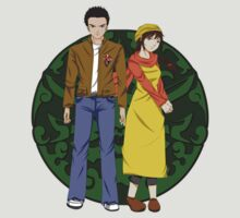 Ryo and Shenhua - Shenmue by techwiz