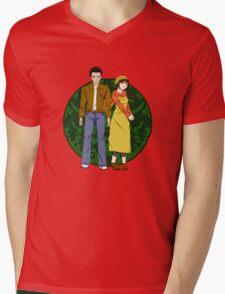 Ryo and Shenhua - Shenmue Mens V-Neck T-Shirt