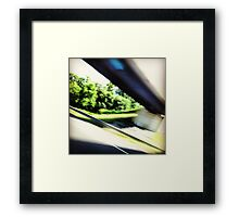 On the Highway. Framed Print