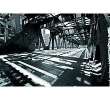 Chicago Double Deck Street Photographic Print