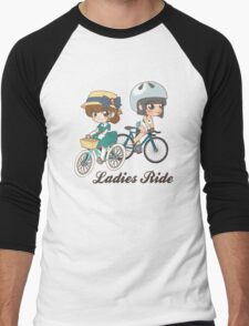Ladies Ride Men's Baseball ¾ T-Shirt