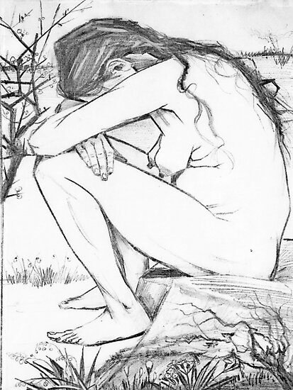 Sorrow (After Vincent Van Gogh) by taiche