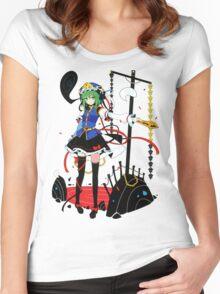Touhou - Shikieiki Yamaxanadu Women's Fitted Scoop T-Shirt