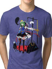 Touhou - Shikieiki Yamaxanadu Tri-blend T-Shirt