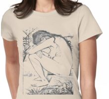 Sorrow (After Vincent Van Gogh) Womens Fitted T-Shirt