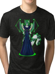 Countess Absinthe the Green Faerie Tri-blend T-Shirt