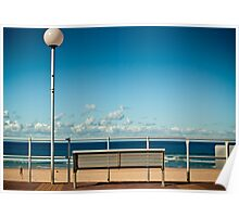Bondi Beach Bench  Poster