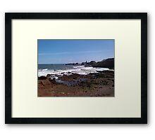 Dunbar Waves  Framed Print