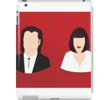 Flat Pulp Fiction  iPad Case/Skin