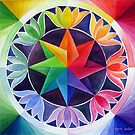 Colour wheel 2 by Karin Zeller