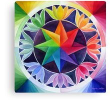 Colour wheel 2 Canvas Print