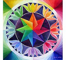 Colour wheel 2 Photographic Print