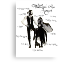 Fleetwood Mac: Rumours Canvas Print