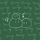 Clannad - Dango Daikazoku on the Blackboard Ipod Case by Kyrannyx
