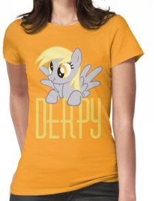 Derpy Hooves.  That is all. Womens Fitted T-Shirt