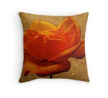 Enigma Of The Yellow Rose #5 Throw Pillow