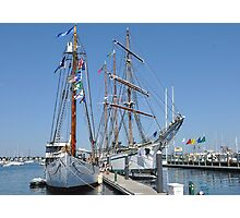 Tall Ships Times Two Photographic Print