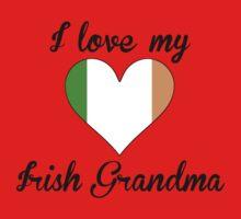 I Love My Irish Grandma One Piece - Short Sleeve