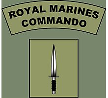 Royal Marines Commando Flash Photographic Print