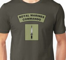 Royal Marines Commando Flash Unisex T-Shirt